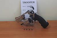 Револьвер под патрон Флобера TROOPER - 3 Хром