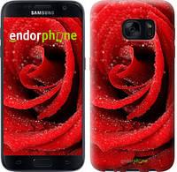 "Чехол на Samsung Galaxy S7 G930F Красная роза ""529c-106"""