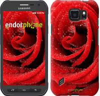 "Чехол на Samsung Galaxy S6 active G890 Красная роза ""529u-331"""
