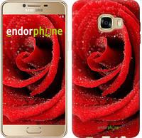 "Чехол на Samsung Galaxy C5 C5000 Красная роза ""529u-301"""