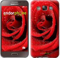 "Чехол на Samsung Galaxy E7 E700H Красная роза ""529u-139"""