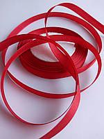 Лента атласная красная 0.9см
