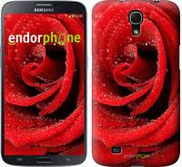 """Чехол на Samsung Galaxy Mega 6.3 i9200 Красная роза """"529u-167"""""""