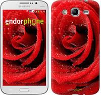 """Чехол на Samsung Galaxy Mega 5.8 I9150 Красная роза """"529u-309"""""""