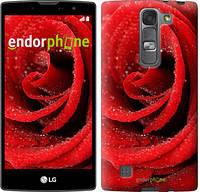 """Чехол на LG G Pro 2 D838 Красная роза """"529u-375"""""""