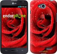 """Чехол на LG L90 Dual D410 Красная роза """"529u-202"""""""