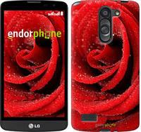 """Чехол на LG L Bello D335 Красная роза """"529u-303"""""""