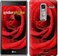 """Чехол на LG Class H650E Красная роза """"529u-241"""""""