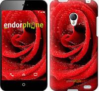 """Чехол на Meizu MX2 Красная роза """"529u-239"""""""