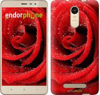 "Чехол на Xiaomi Redmi Note 3 Красная роза ""529c-95"""