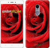 "Чехол на Xiaomi Redmi Note 4 Красная роза ""529c-352"""