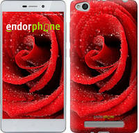 "Чехол на Xiaomi Redmi 3 Красная роза ""529c-97"""