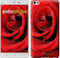 "Чехол на Xiaomi Mi 5s Красная роза ""529c-395"""