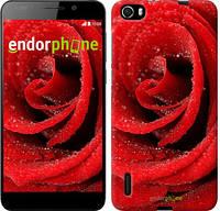 """Чехол на Huawei Honor 6 Красная роза """"529u-175"""""""