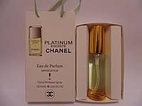 Мужской парфюм в подарочной упаковке Egoïste Chanel Platinum 35 мл