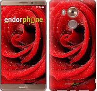 """Чехол на Huawei Mate 8 Красная роза """"529u-269"""""""