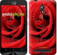"""Чехол на Asus Zenfone Go ZC500TG Красная роза """"529c-160"""""""