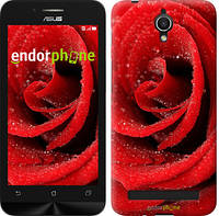 """Чехол на Asus ZenFone Go ZC451TG Красная роза """"529u-276"""""""