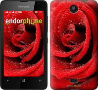 """Чехол на Microsoft Lumia 430 Красная роза """"529u-153"""""""