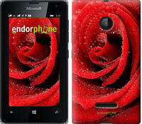 """Чехол на Microsoft Lumia 532 Dual Sim Красная роза """"529u-151"""""""