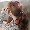 Гумка для волосся семицветики резиночка для волосся квіточки аксесуари, фото 3