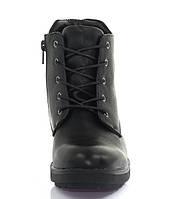 Женские демисезонные ботинки на шнурках