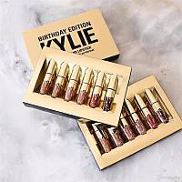 Новинка! Комплект жидких матовых помад Kylie Gold
