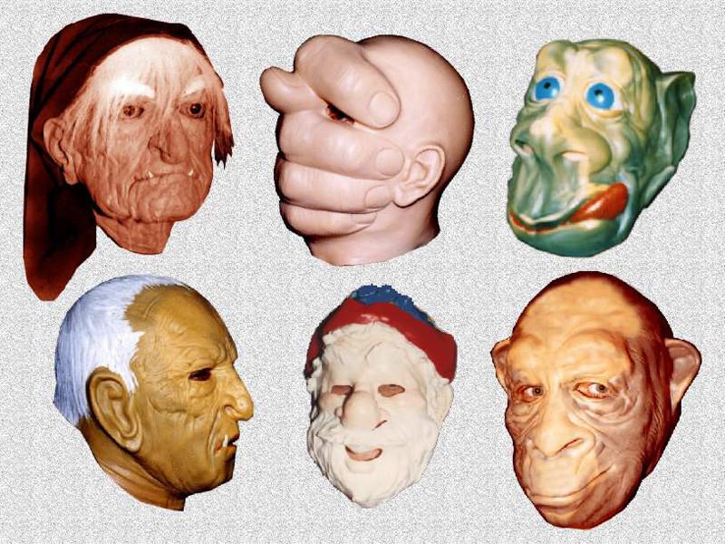 Карнавальные маски Баба Яга, Кощей