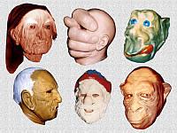 Карнавальные маски Баба Яга, Кощей, фото 1