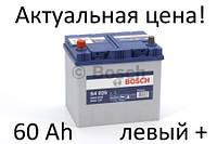 Аккумулятор Bosch S4 60 Ah 0092S40250 Пусковой ток 540 A, Левый +,Размеры на картинке