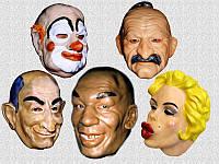 Латексная Маска Клоуна, Тайсона, Монро, Козак, Луи, фото 1