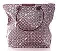 Сумка жіноча текстилю Grey beach bag сіра, фото 2
