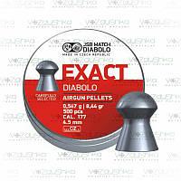 Пули JSB Exact Diabolo 0,547 g 4,51 мм 500 шт/уп