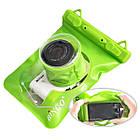 Водонепроницаемый аквабокс для фотоаппаратов Bingo зелёный, фото 2