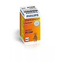 Лампа розжарювання Philips P13W, 1шт/картон 12277C1