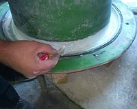 Налаживание производства изделий из мытого бетона