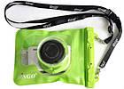 Водонепроницаемый аквабокс для фотоаппаратов Bingo зелёный, фото 3