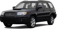 Фаркопы на Subaru Forester (1997-2008)