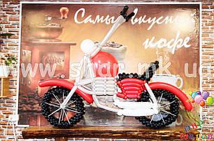 Мотоцикл из воздушных шаров, фото 2