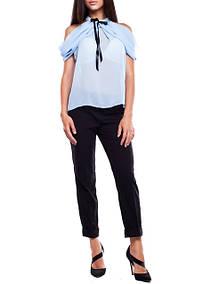 Блузки с открытыми плечами, блузки с коротким рукавом