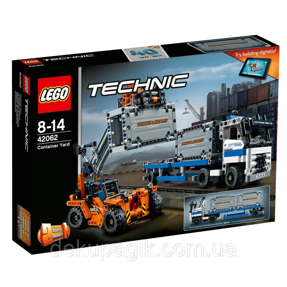 Lego Technic Контейнерный терминал 42062