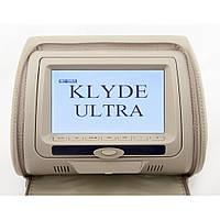 Монитор-подголовник Klyde Ultra 747 HD с DVD бежевый (17403)