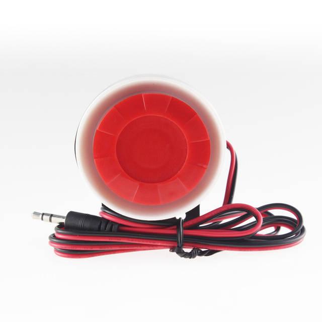 Проводная сирена S01-12V для для сигнализаций 12В 120Дб
