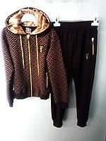 Роскошный костюм - Louis Vuitton для девочки, рост 134-140 см. Турция