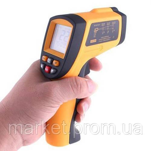 Пирометр инфракрасный с лазерным указателем Benetech GM900 (SRG 900) -50~900℃ ( 12:1 ) в Кейсе