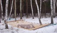 """Гамак """"дерево на веревке"""" 1.3х4 м"""
