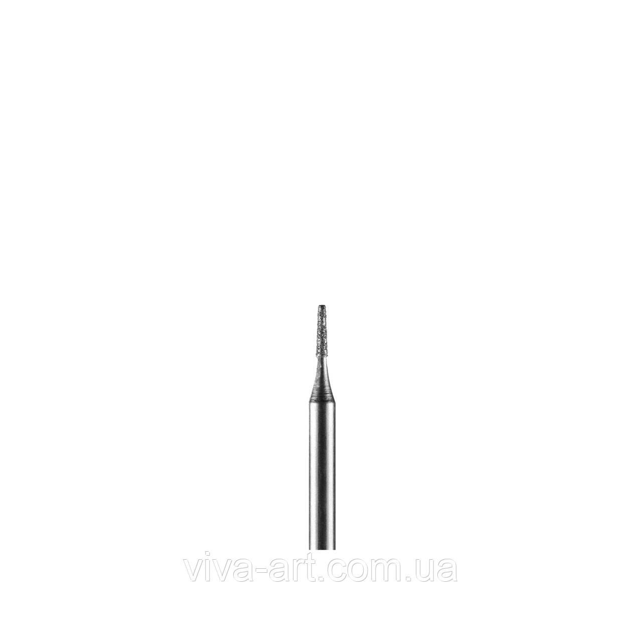 Алмазна насадка усічений конус, 1 мм, середній абразив, Diaswiss (Швейцарія)