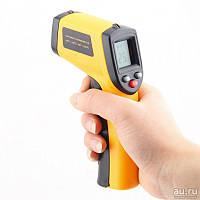 Пирометр инфракрасный с лазерным указателем GM1150 (SRG 1150), - 50℃ ~ 1150℃ (-58~2102℉) в КЕЙСЕ!!! ( 20:1 )