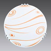 1930-7 Светильник со стеклом 30'LUK PAI OKTAI оранжевый