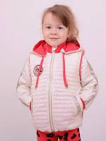 Куртка-жилет для девочек Эсения, рост 86;92;98;104;110, разные цвета